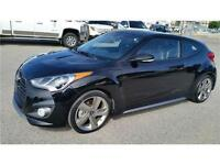 2014 Hyundai Veloster Turbo/Nav/Leather/Back-up Cam/Ext Warranty