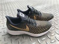 Nike Air Zoom Pegasus 35 Metallic trainers UK size 4/ EUR size 37.5