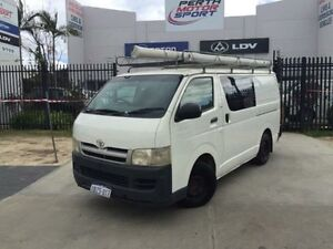 2005 Toyota Hiace KDH200R LWB White 5 Speed Manual Van Beckenham Gosnells Area Preview