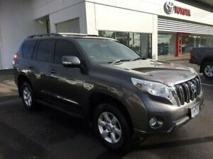 2014 Toyota Landcruiser Prado KDJ150R MY14 GXL (4x4) Graphite 5 Speed Sequential Auto Wagon Sale Wellington Area Preview