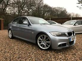 BMW 3 SERIES 320d M Sport Business Edition 4dr Step Auto (blue) 2010