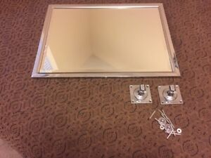 Vanity Swivel Mirror Bevelled Glass - MINT