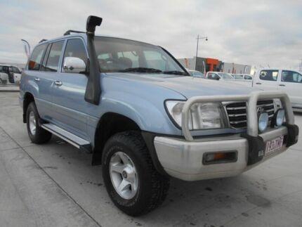 2002 Toyota Landcruiser FZJ105R GXL Advantage Limited Edition Blue 4 Speed Automatic Wagon Pakenham Cardinia Area Preview