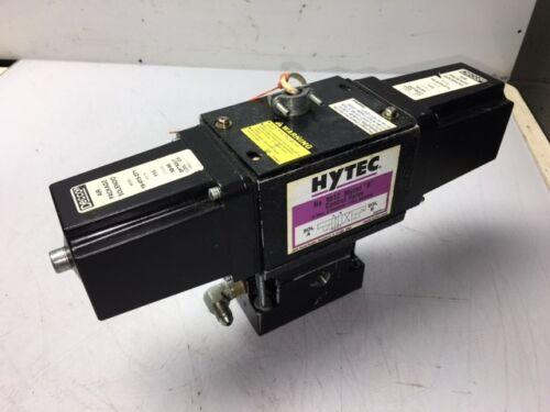 "Hytec Cat# 9612, Mod ""B"" Control Valve, 4-WAY, 2 Position, 115V, Used, Warranty"