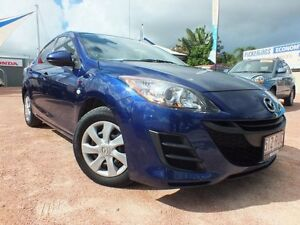 2011 Mazda 3 BL10F1 MY10 Neo Activematic Blue 5 Speed Sports Automatic Sedan Rosslea Townsville City Preview