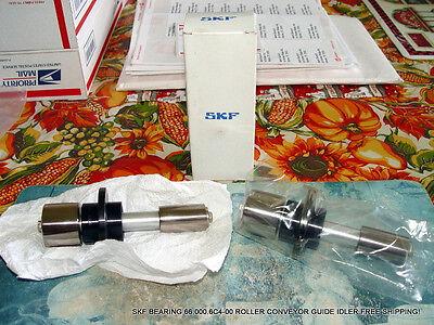 Skf Bearing 66.000.6c4-00 Roller Conveyor Guide Idler Free Shipping