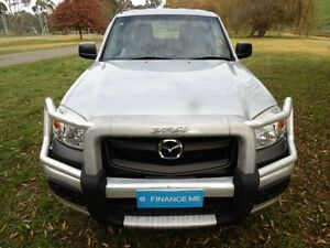 2011 Mazda BT-50 UNY0E4 DX Silver 5 Speed Manual Utility Mount Barker Mount Barker Area Preview