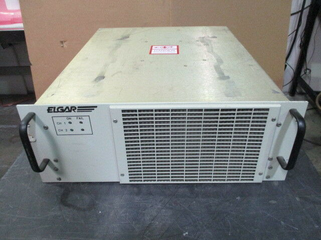 Elgar 5606315-01 Dual Channel Power Supply, 450732