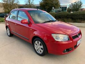 2010 Proton S16 BLM GX Red 4 Speed Automatic Sedan Fyshwick South Canberra Preview