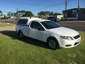 2010 Ford Falcon FG EcoLPi Super Cab White Automatic Utility Wangara Wanneroo Area Preview