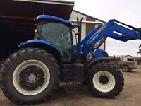 2011 New Holland 7.235 MFWD Loader Tractor