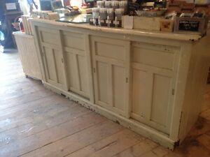 Some antique and faux antique furniture for sale