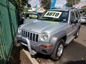 2002 Jeep Cherokee KJ Sport (4x4) Silver 4 Speed Automatic Wagon Campbelltown Campbelltown Area Preview
