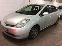 2008 TOYOTA PRIUS 1.5 VVTI T3 HYBRID ELECTRIC AUTOMATIC EXCELLENT DRIVE SILVER SPACIOUS NOT INSIGHT