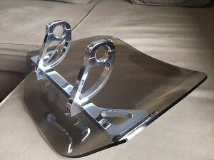 Pare -Brise de marque Windwest Était sur un Harley FXR 1340