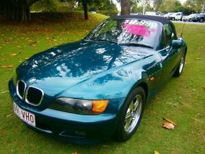 1998 BMW Z3 E36-7 Green 4 Speed Automatic Roadster Southport Gold Coast City Preview