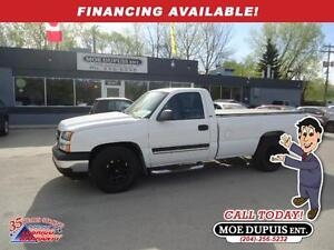 2006 Chevrolet Silverado 1500 LS,ONLY 107 000KMS!! ACCIDENT FREE