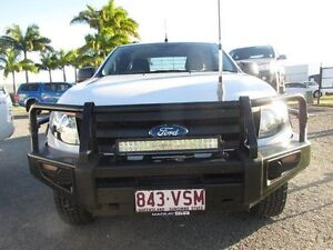 2013 Ford Ranger White Manual Mount Pleasant Mackay City Preview
