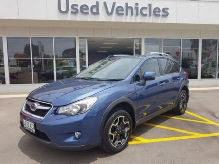 2013 Subaru XV G4X MY13 2.0i-S Lineartronic AWD Blue 6 Speed Constant Variable Wagon Blair Athol Port Adelaide Area Preview