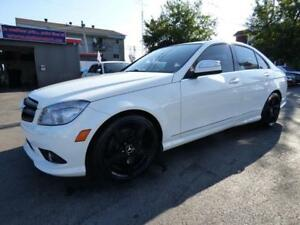 2009 MERCEDES-BENZ C300 4MATIC (TOIT, CUIR, BT, MAGS, FULL!!!)