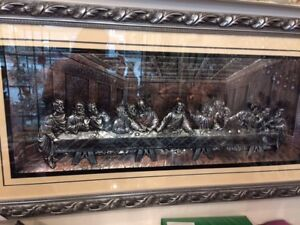 picture frame last supper