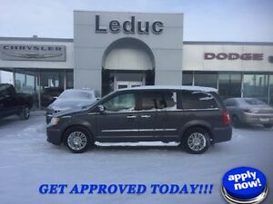 2015 Chrysler Town & Country Limited with Leather DVD and Power
