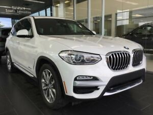 2018 BMW X3 xDrive30i AWD, NAVI, INTELLIGENT SAFETY