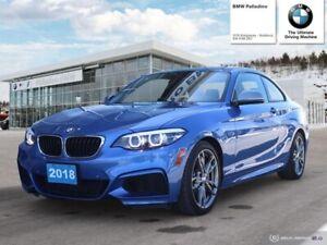 2018 BMW 2 Series M240i xDrive/Premuim Enhanced PKG/ M Sport PKG