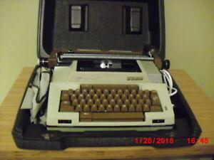 Portable Electric Smith Corona Typewriter