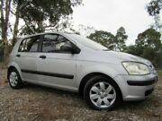 2003 Hyundai Getz TB GL Silver 4 Speed Automatic Hatchback Doveton Casey Area Preview