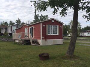 Maison mobile Camping Parc de la Péninsule