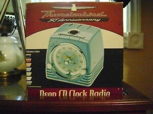 Thunderbird 50th Anniversity Neon CD clock Radio Peterborough Peterborough Area image 2