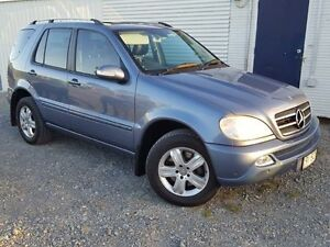 2005 Mercedes-Benz ML350 W163 Luxury Blue 5 Speed Sports Automatic Wagon Gaven Gold Coast City Preview