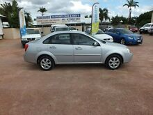2009 Holden Viva JF MY09 Silver 4 Speed Automatic Sedan Rosslea Townsville City Preview