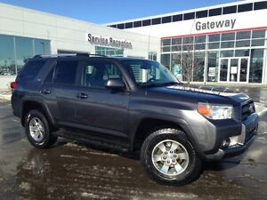 2010 Toyota 4Runner SR5 4X4, Leather, Sunroof, Back Up Cam