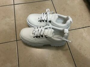 New High Quality White Shoes (Size 5)