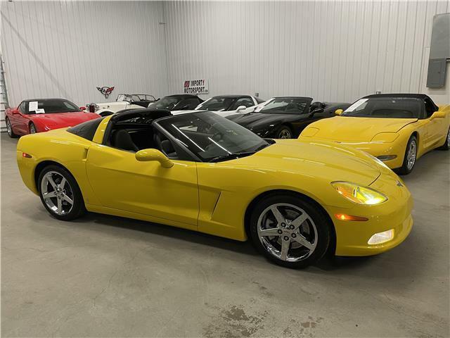 2007 Yellow Chevrolet Corvette Coupe 3LT | C6 Corvette Photo 6