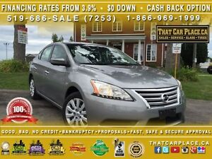 2013 Nissan Sentra S-$41/Wk-CD/Mp3/AUX-Clean Carproof-Keyless-Cl