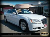 2014 Chrysler 300 Touring LEATHER AND PANORAMIC SUNROOF!