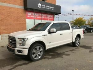 2016 Ford F-150 Limited 4x4 SuperCrew Cab |Nav |Panoramic Sunroo