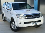 2010 Toyota Hilux KUN26R MY11 Upgrade SR5 (4x4) White 4 Speed Automatic Dual Cab Pick-up Eagle Farm Brisbane North East Preview
