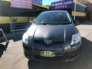 2009 Toyota Corolla ZRE152R Ascent Grey 6 Speed Manual Hatchback Cardiff Lake Macquarie Area Preview