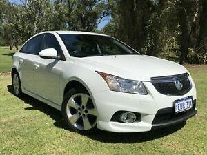2012 Holden Cruze JH Series II MY12 SRi White 6 Speed Sports Automatic Sedan Embleton Bayswater Area Preview