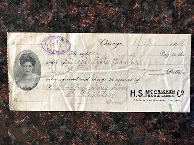 Vintage voucher