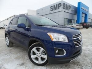 2016 Chevrolet Trax LTZ- AWD, Heated Leather, Sunroof, Rem Start