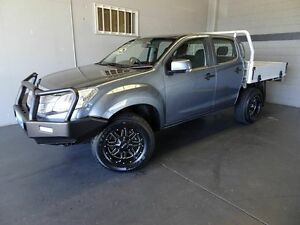 2012 Isuzu D-MAX TF MY12 SX (4x4) Blue 5 Speed Manual Crew C/Chas Woodridge Logan Area Preview