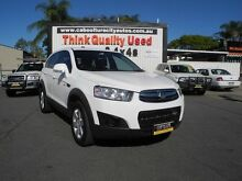 2012 Holden Captiva CG Series II 7 SX White 6 Speed Sports Automatic Wagon Caboolture South Caboolture Area Preview