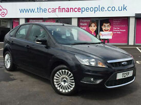 Ford Focus 1.6 2010.25MY Titanium **GOOD/BAD CREDIT CAR FINANCE **FROM £75 PW*