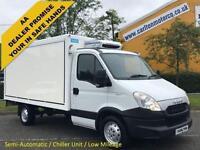 2013 13 Iveco Daily 35S11 Fridge / Freezer Chiller Box Van Low Mileage
