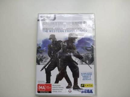 Company Of Heroes 2 The Western Front Armies Sega PC DVD NEW